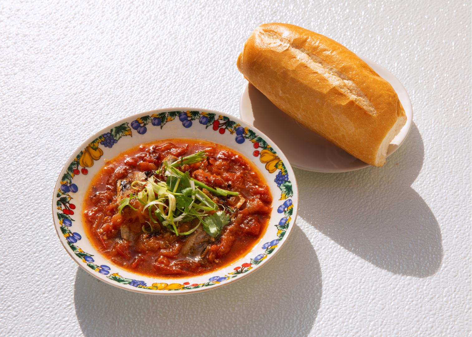 Braised Sardines & Tomatoes